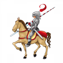 Sticker Chevalier Lancelot