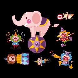 Sticker Les Artistes du Cirque