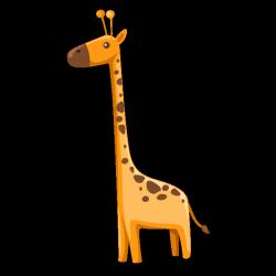 Sticker Drôle de Girafe