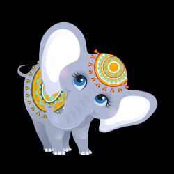 Sticker Éléphant d'Inde