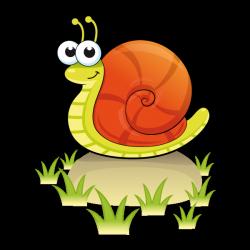 Sticker Escargot sur un caillou