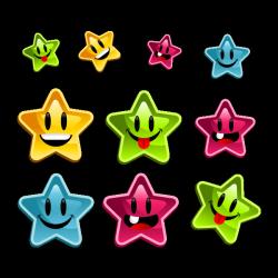 Sticker Etoiles du bonheur