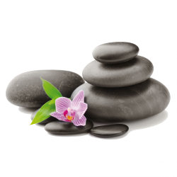 Sticker Galets zen