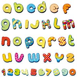 Sticker Alphabet et chiffres
