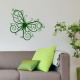 Sticker Papillon arabesques