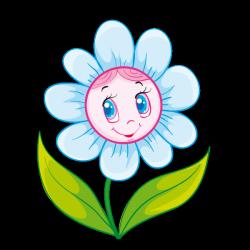 Sticker Fleur joyeuse