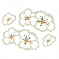Sticker Fleur des îles