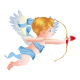 Sticker L'ange Cupidon