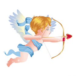 Sticker L'ange Cupidon