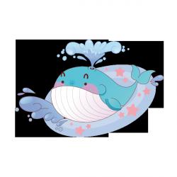 Sticker Missi la baleine