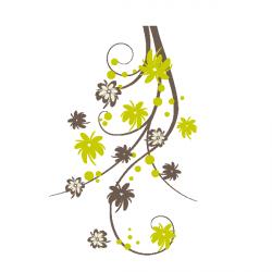 Sticker Fleurs nature