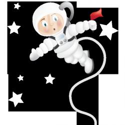 Sticker Arrivée sur la lune