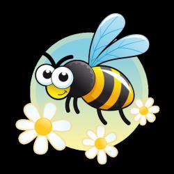 Sticker La petite abeille