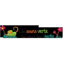 Sticker Souris verte 2