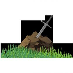 Sticker Excalibur