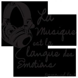 Sticker La musique de Kant
