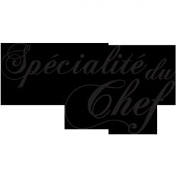 Sticker Spécialité du chef