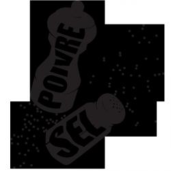 Sticker Poivre et sel