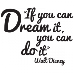 Sticker Dream Disney