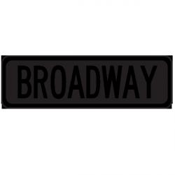 Sticker Panneau Broadway