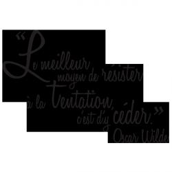 Sticker La tentation de Wilde