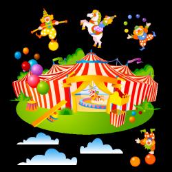 Sticker Mon cirque