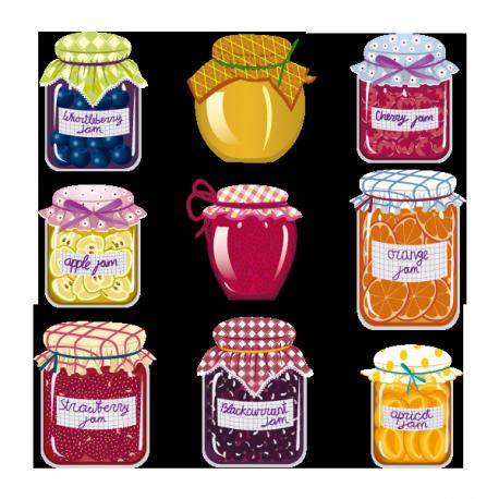 Sticker Confitures de Grand-Mère
