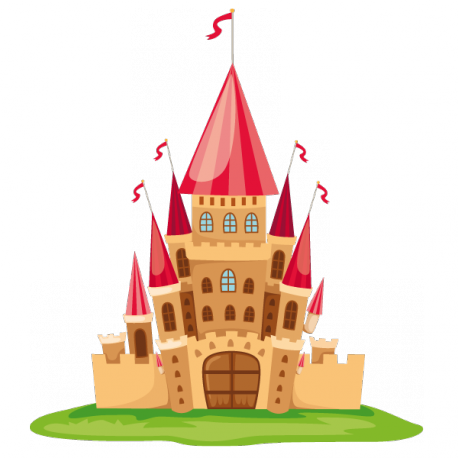 Sticker Château de contes