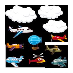 Sticker Vols dans les airs