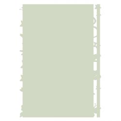Sticker Fée et papillons phosphorescents