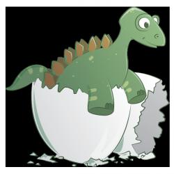 Sticker Stegosaure2