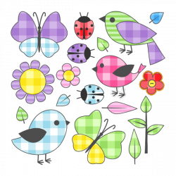 Sticker Patchwork garden