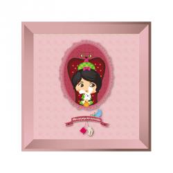 Sticker tableau Alice