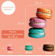 Sticker Macarons Gourmand