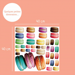 Sticker Macarons Gourmand