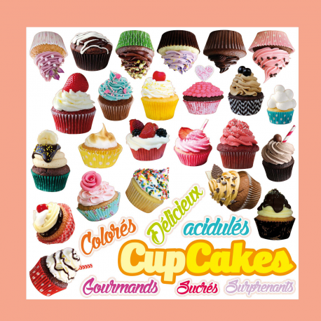 Sticker CupCakes Gourmand