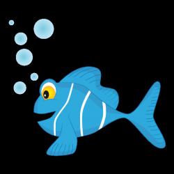Sticker Poisson bulles