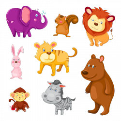 Sticker Animaux rigolos