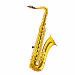 Sticker Le saxophone