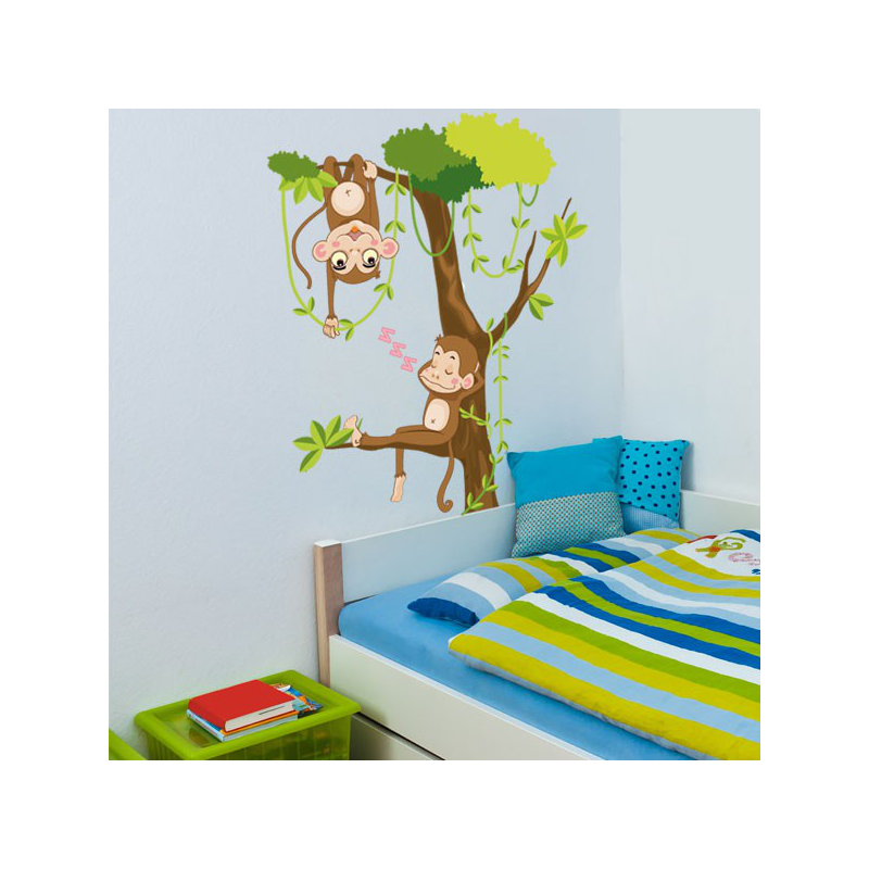 Stunning Stickers Chambre Bebe Jungle Pictures - House Design ...