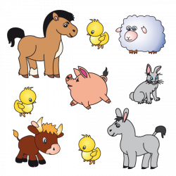 Sticker Animaux de la ferme