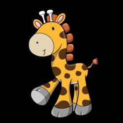 Sticker Doudou la petite girafe