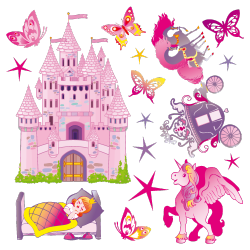 Sticker La Princesse et son Royaume