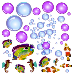 Sticker Aquarium