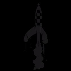 Sticker La fusée