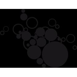 Sticker Nuage de bulles
