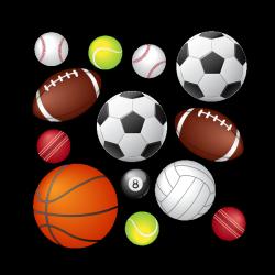 Sticker Ballons et balles