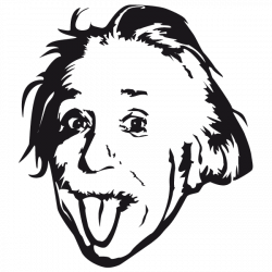 Sticker Einstein