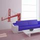 Sticker Golden Gate