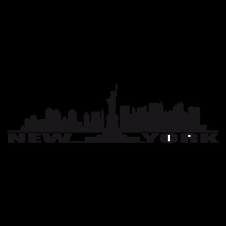 Sticker New York fresque